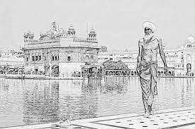 sikh pilgrim sketch by awesome sketches on deviantart