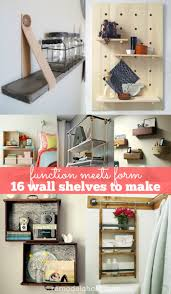 Ideas For Decorating A Kitchen Wall Shelf Remodelaholic 30 Functional Wall Decor Ideas