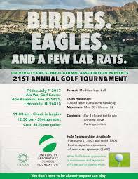 Charity Golf Tournament Welcome Letter university laboratory school a hawai i public charter school