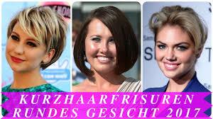 Frisuren Kurzhaar Frauen 2017 by Kurzhaarfrisuren Rundes Gesicht 2017
