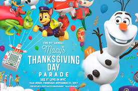 world renowned macy s thanksgiving day parade kicks the