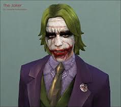 mod the sims heath ledger as the joker