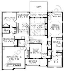 100 spanish floor plans contemporary one story house plans