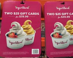discount gift card yogurtland discount gift card costcochaser
