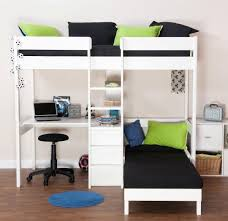 High Sleeper With Sofa And Desk Endearing High Sleeper With Futon With Montana Bunk Bed And High