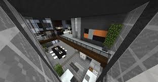 Minecraft Interior Design Modern Penthouse Interior Creative Mode Minecraft Java