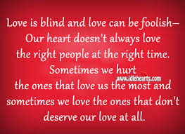 What Is Blind Love Is Blind Quotes Like Success
