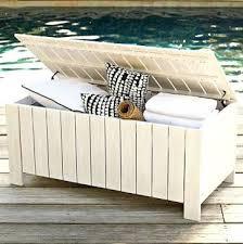 patio cushion storage bench chic cushion storage bench outdoor
