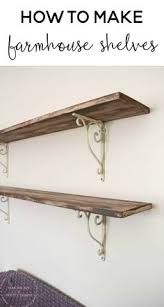Building Wood Shelf Brackets by Diy Faux Floating Shelves Shelves House And Room