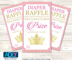 raffle baby shower pink princess raffle printable tickets for baby shower