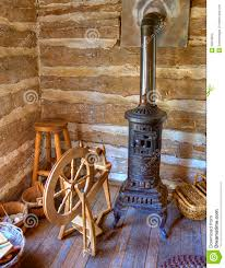 Rustic Log Home Plans Rustic Old Time Log Cabin Spinning Room Stock Photos Image 20818503