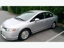 gas mileage for 2007 honda civic 2007 honda civic hybrid great gas mileage low km extended