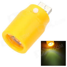 mini 1w led usb powered emergency light l for mobile power bank