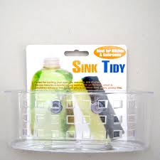 Kitchen Sink Caddy Organizer Sponge Dish Brush Holder Suction Cup - Kitchen sink sponge holder