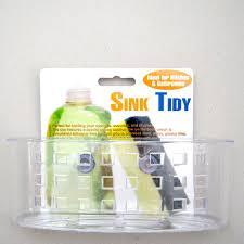 Kitchen Sink Holder by Kitchen Sink Caddy Organizer Sponge Dish Brush Holder Suction Cup