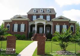 brick home designs home design cute garrell associates cozy luxury brick house plans