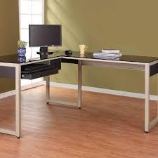 Glass Topped Computer Desk Office Desk Modern Office Desk Glass Top Computer Desk Small