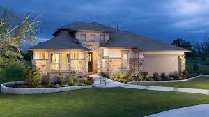 Texas Ranch Homes by New Homes At Santa Rita Ranch In Liberty Hill Texas Brookfield
