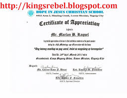 sample certificate of appreciation template certificate template