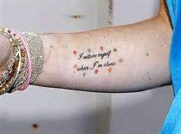 marilyn quote tattoos profile picture quotes