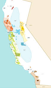 Southern Mexico Map by Wine Map U0026 Winery Directory California Wines