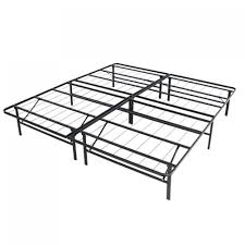 Foldable Twin Bed Twin Bed Frame Size Platform Metal Bed Frame Foldable No Box