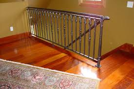hand crafted loft railing by rising sun forge custommade com