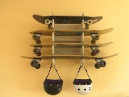 6 Diy Ways To Make by 6 Easy Steps How To Make A Skateboard Rack