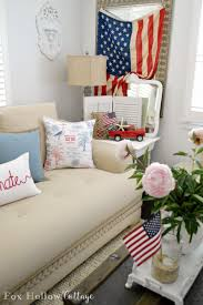 Coastal Cottage Furniture Coastal Cottage With A Patriotic Summer Twist Fox Hollow Cottage