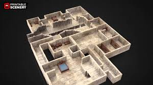 3d printable dungeon tiles youtube