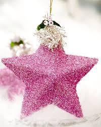 10 diy glitter tree ornaments shelterness