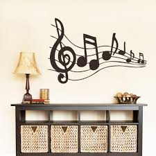 awesome musical note wall decor photos home design ideas