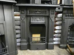 antique victorian cast iron fireplace u0027the victor u0027 271mc 1134