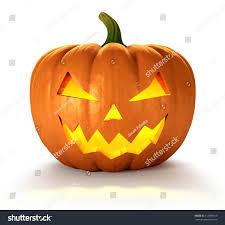 scary jack o lantern halloween pumpkin stock illustration