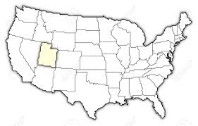 Arizona On Us Map by Utah On Us Map New York Map