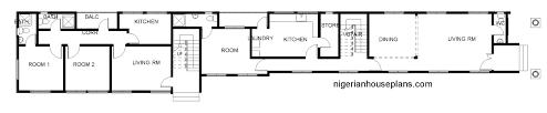 2 Bedroom 2 Bath Duplex Floor Plans by 4 Bedroom Duplex U0026 2 Bedroom Flats Ref 4017 Nigerianhouseplans