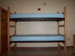 Colby College Campus Life PPD Questions About Dorm Furniture - Dorm bunk bed