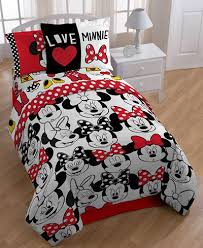 Minnie Mouse Infant Bedding Set Great Minnie Mouse Twin Bedding Ideas U2014 One Thousand Designs