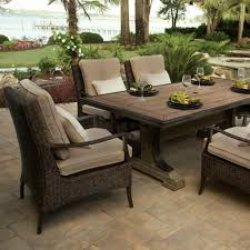Patio Table Grill Furniture Intriguing Backyard Creations Patio Furniture Designs