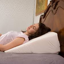 wedge bed pillows bed pillows for back pain in bed wedge to elevate head of bed