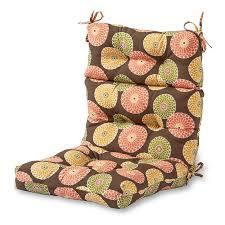 Cargo Furniture Cushion Covers Greendale Home Fashions Outdoor High Back Chair Cushion Flowers