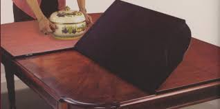 Table Protector Pads by Vinyl Table Pads For Dining Room Tables