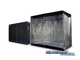 chambre de culture discount chambre de culture silverbox evolution 240x120x200cm mylar 600d