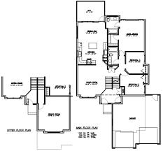 tri level house floor plans split level house plans modern floor traintoball