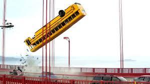 terminator genisys clip bus crash on the bridge 2015 arnold