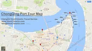 Pandas Map How To Get To Chongqing Chaotianmen Port China Chengdu Panda