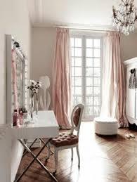 rideaux chambre ado fille beaux rideaux pastel oreiller blanc deco