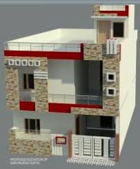 home design for 20x50 plot size front elevation with head building size 14feet gharexpert front