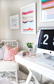 Chic Home Office Desk Here U0027s The Home Office Everyone Is Freaking Out About On Instagram