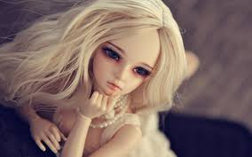 cute long hair doll beautiful wallpapers hd wallpapers rocks